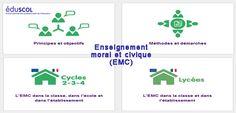 L'enseignement moral et civique (#EMC) via @Eduscol