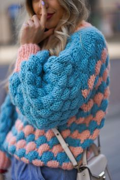 Hand made knitwear - 2020 trends