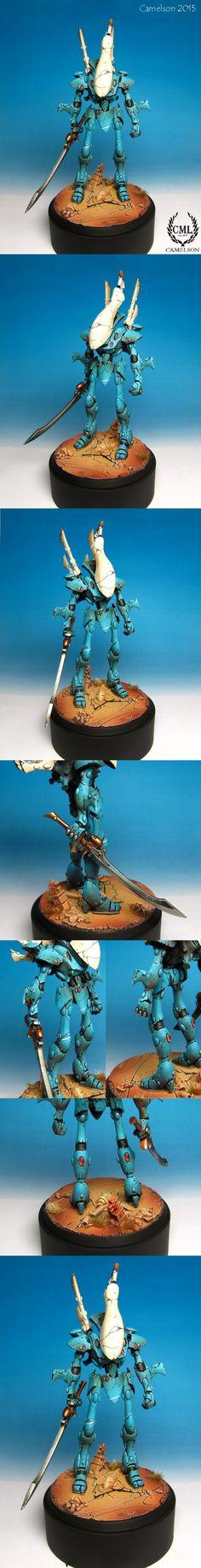 40k - Eldar Wraithlord by camelson