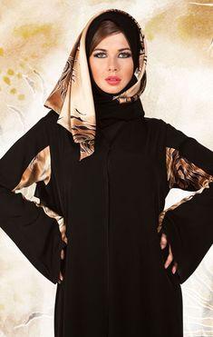 Emoo Fashion: Cute Saudi Abaya Designs for Muslim Girls 2012 – Hijab Fashion 2020 Burka Fashion, Modern Hijab Fashion, Muslim Women Fashion, Arab Fashion, Islamic Fashion, Suit Fashion, Fashion 2020, Woman Fashion, Style Fashion