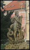 Neptune Fountain, Presov