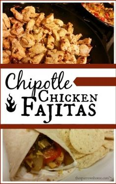 Chicken fajitas in a flash. These chipotle seasoned chicken fajitas are one of the quickest meals to put together on a weeknight.