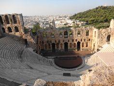 Atenas - Fotografía: Paulo Portugal Mykonos, Santorini, Portugal, Nature, Travel, Greek Isles, Athens, Cruise, Temple