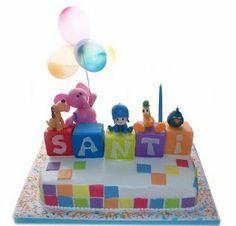 Pocoyo Cakes for Children Parties 2 Birthday Cake, 1st Boy Birthday, 3rd Birthday Parties, Birthday Ideas, Mini Eggs, Original Gifts, First Birthdays, Children, Kids