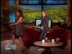 "Halle Berry dancing to ""She's Fine"" on Ellen :D"