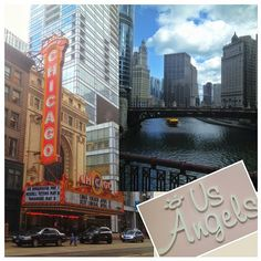 The ☀ is shining in the windy city and there's nowhere we'd rather be #usangels #bridalmart #flowergirl #mondayfunday