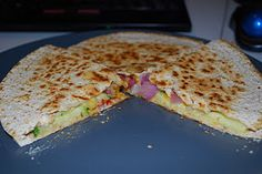 Weight Watchers Vegetable Quesadillas: 4 Points