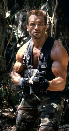 Arnold in Predator Predator movie with Arnold Schwarzenegger. Easy drop-in, already-shaped face photo. Agentamy face Cut Outs Arnold Schwarzenegger Movies, Arnold Schwarzenegger Bodybuilding, Arnold Schwarzenegger Predator, Brendan Fraser The Mummy, Arnold Movies, Arnold Bodybuilding, Face Cut Out, Mejores Series Tv, Badass Movie