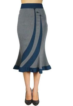 Fitted Flared Skirt By Amber Middaugh-- Save 37 % use couponcode: AMBER37