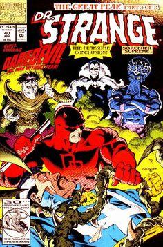 Doctor Strange - Sorcerer Supreme # 40 by Geof Isherwood