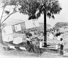 #OnThisDay in 1894 – Australian inventor Lawrence Hargrave demonstrates that it is possible for man to fly. NAA: A1200, L69328