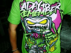 a day to remember | day to remember, adtr shirt, shirt - inspiring picture on Favim.com