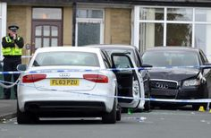 Man was shot at with his five-year-old son in the car, jury hears