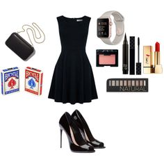 NOW YOU SEE ME by kelseys2 on Polyvore featuring мода, Oasis, Yves Saint Laurent, Forever 21, Gucci, NARS Cosmetics and Clare V.