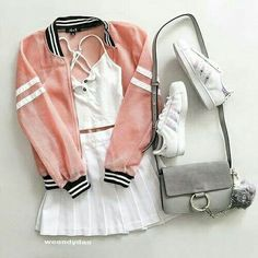 Find and save up to date fashion trends and the latest style inspiration, ootd photography and outfit looks Teenage Outfits, Teen Fashion Outfits, Cute Fashion, Outfits For Teens, Fashion Beauty, Fashion Photo, Cute Summer Outfits, Cute Casual Outfits, How To Have Style