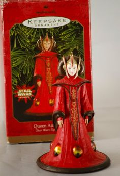 Hallmark Keepsake Ornament - Star Wars Queen Amidala 1999 (QXI4187)