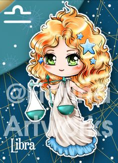 Chibi Starsigns - Libra by Fiorina-Artworks on deviantART