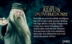 I'm Albus Dumbledore! Which member of the Order of the Phoenix are you? #ZimbioQuiznull - Quiz