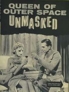 queen of outer space unmasked