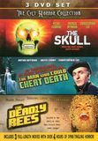 The Cult Horror Collection: The Skull/The Man Who Could Cheat Death/The Deadly Bees [3 Discs] [DVD]