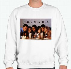 Friends TV Show Sweatshirt by HeightsDesigns on Etsy
