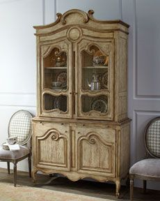 Love everything about this French Country Hutch!