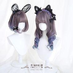 Cosplay Kawaii, Lolita Cosplay, Cosplay Hair, Cosplay Wigs, Kawaii Hairstyles, Cute Hairstyles, Kawaii Wigs, Pelo Anime, Lolita Hair