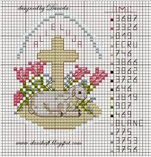 Znalezione obrazy dla zapytania haft krzyżykowy na Boże Narodzenie wzory