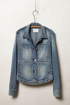 The perfect jean jacket. Denim by anthro