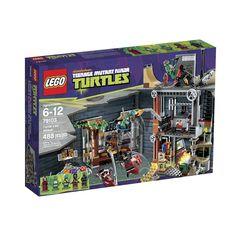 LEGO Teenage Mutant Ninja Turtles Turtle Lair Attack [488 pcs - 79103]