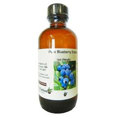 Pure Blueberry Extract 4 oz.