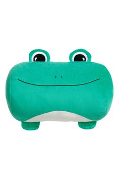 Soft Toy Cushion | Green/frog | H&M HOME | H&M US