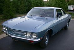 1966 Chevrolet Corvair Corsa (2nd Gen) 2.7L Flat-Six-Cylinder Rear Mounted Engine
