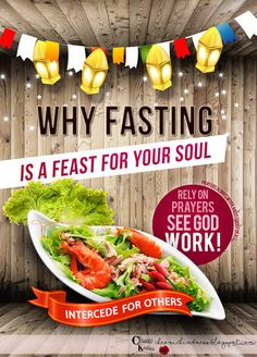 When fasting is a feast.
