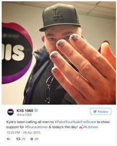 If You Support Bruce Jenner Paint Your Nail - #bruce #jenner #out #of #the #closet #coming #out #news #celebrities #fight #love #cause #gay #lgbt #health #nail #paint #unique #paintyournailsforbruce #support #social #media #campaign