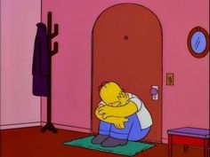 Image discovered by JcB. Find images and videos about sad, crying and the simpsons on We Heart It - the app to get lost in what you love. Simpsons Meme, The Simpsons, Cartoon Wallpaper, Sad Wallpaper, Cartoon Icons, Cartoon Memes, Meme Pictures, Reaction Pictures, Vintage Cartoon