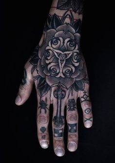 Cool Hand Tattoos For Guys hand tattoos for men - designs and ideas ...