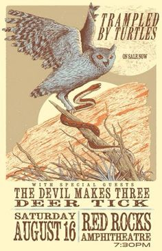 Poster- trampled by turtles