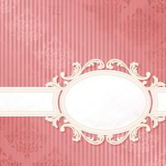 Vintage background with Decoration floral vector 05