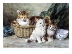 """""""Kittens"""" by Louis-Eugene Lambert"""