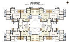 Floorplan of Pride Aashiyana