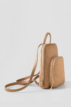 Kristiana taupe backpack - Francesca's