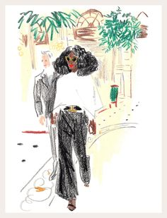 Linda Fargo, Solange Knowles and the Faces of Paris Fashion Week, Part One