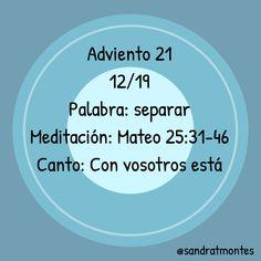 #Adviento21