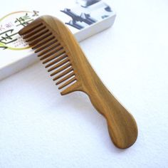 Red Sandalwood Wooden Hair Combs Wedding Party Makeup Hairbrushes with Gift Bag
