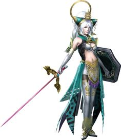 Nu Wa in Warriors Orochi Fantasy Warrior, Warrior Girl, Samurai Warrior, Fantasy Girl, Dynasty Warriors, Female Character Design, Character Art, Fantasy Characters, Female Characters