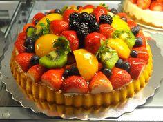 Yummy Fruit Tart!!