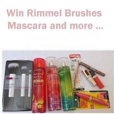Win #Rimmel #Brushes #Mascara and more ^_^ http://www.pintalabios.info/en/fashion-giveaways/view/en/2496 #International #MakeUp #bbloggers #Giweaway