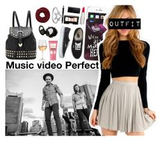 """""""Music video Perfect"""" by forever-yours-xo-xo ❤ liked on Polyvore featuring Disney, Vans, Givenchy, NARS Cosmetics, KC Designs, Wyatt, River Island, Marc Blackwell and Soap & Glory"""