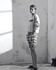 isabel marant etoile spring 2014 6 Karmen Pedaru Models Isabel Marant Etoiles Spring 2014 Collection